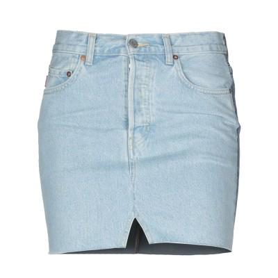 VETEMENTS x LEVI'S デニムスカート ブルー XS コットン 100% デニムスカート