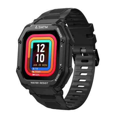 男性用頑丈な時計アウトドアスポーツ防水フィットネストラッカー血圧モニタースマートウォッチ