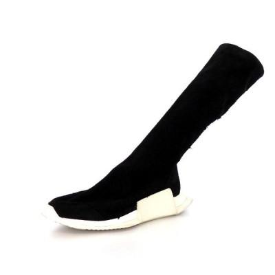 【中古】リックオウエンス Rick Owens adidas RO LEVEL RUNNER BOOT ブーツ スニーカー 靴 US6 24.0cm ブラック 黒 DA8776 メンズ レディース 【ベクトル 古着】