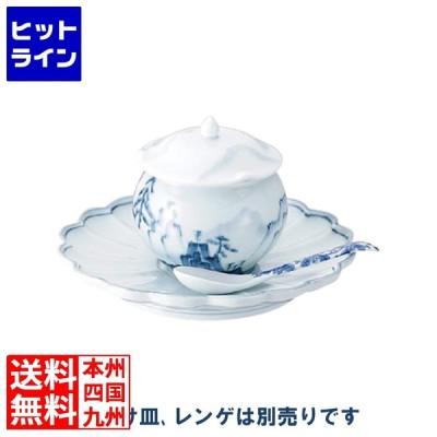 青磁山水仏跳壇 小 461029