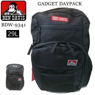 BEN DAVIS ガジェット デイパック 大容量 29L ボックスロゴ リュック バックパック レディース メンズ 男女兼用 通勤 通学 旅行 かばん バッグ BDW-9341