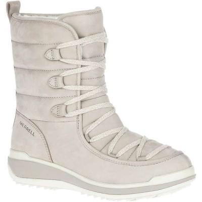 メレル レディース ブーツ・レインブーツ シューズ Merrell Women's Snowcreek Cozy Leather Polar Waterproof Boot