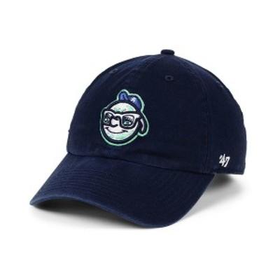 47ブランド メンズ 帽子 アクセサリー Asheville Tourists CLEAN UP Strapback Cap Navy