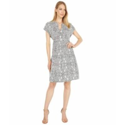 カルバンクライン レディース ワンピース トップス Paisley Print Tiered Dress Jadeite Multi