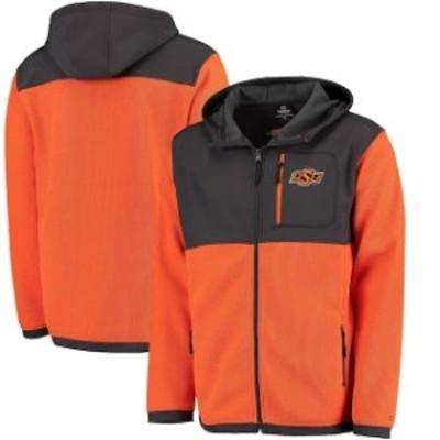 Colosseum コロセウム スポーツ用品  Colosseum Oklahoma State Cowboys Orange Miramar Full-Zip Jacket