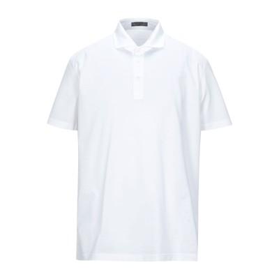 アレッサンドロデラクア ALESSANDRO DELL'ACQUA ポロシャツ ホワイト XXL コットン 100% ポロシャツ
