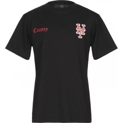 マルセロバーロン MARCELO BURLON メンズ Tシャツ トップス t-shirt Black