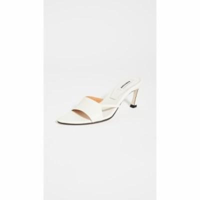 レイクネン Reike Nen レディース サンダル・ミュール シューズ・靴 Cut-out Pointed Sandals Ivory