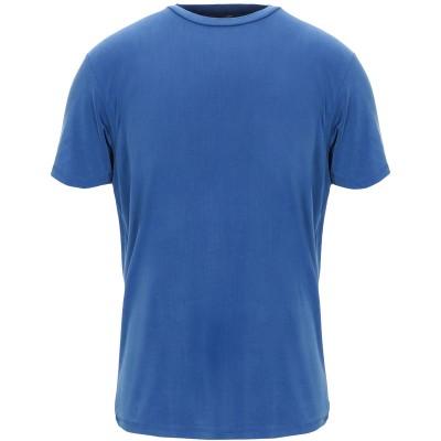 ダニエル フィエゾーリ DANIELE FIESOLI T シャツ アジュールブルー S キュプラ 92% / ポリウレタン 8% T シャツ