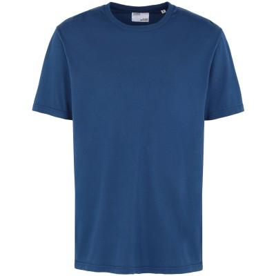 COLORFUL STANDARD T シャツ ブライトブルー XL オーガニックコットン 100% T シャツ