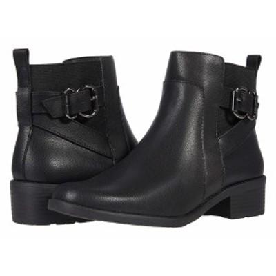 アンクライン レディース ブーツ&レインブーツ シューズ Leala Black Leather