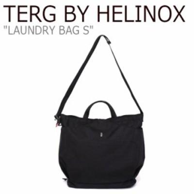 ターグ バイ ヘリノックス ショルダーバッグ TERG BY HELINOX LAUNDRY BAG S ランドリー バッグ S BLACK TO204SBABA06865001 バッグ