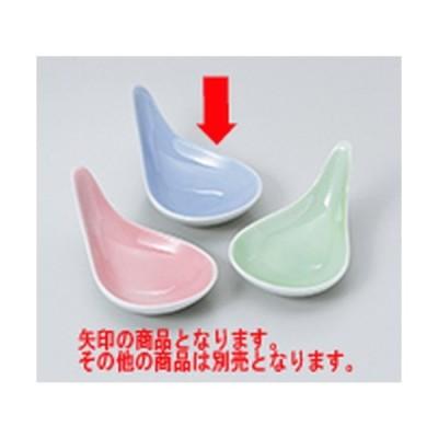 珍味 和食器 / しずく珍味 コバルト(314-03) 寸法:10 x 6 x 4.5cm