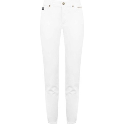 ヴェルサーチ VERSACE JEANS COUTURE レディース ジーンズ・デニム ボトムス・パンツ Logo Jeans White