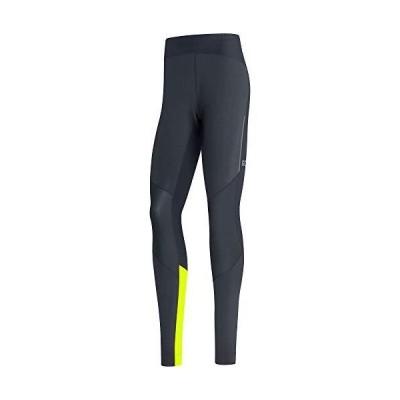 GORE WEAR Men's Running Tights, R5, GORE-TEX INFINIUM, XXL, Black/Neon Yellow並行輸入品
