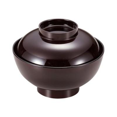 和食器 お椀 / 仙才煮物椀 溜 寸法: 13.5φ x 11cm