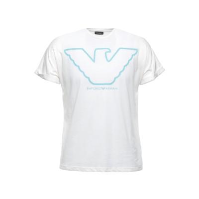エンポリオ アルマーニ EMPORIO ARMANI アンダーTシャツ ホワイト XL コットン 100% アンダーTシャツ