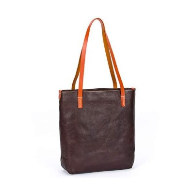 CENUNCO Genuine Leather Tote Bag for Women Purses and Handbags Vintage Work