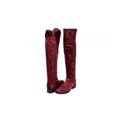 VOLATILE ヴォラタイル レディース 女性用 シューズ 靴 ブーツ ロングブーツ Shale - Wine