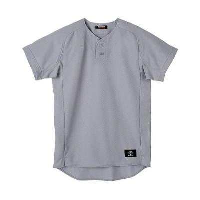 DESCENTE(デサント) STD-30TA カラー:SLV サイズ:XA メッシュハーフボタンシャツ