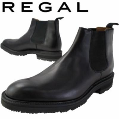 送料無料 メンズ サイドゴアブーツ ショートブーツ ビジネスシューズ リーガル REGAL 29RR 冬底 雪道対応ソール