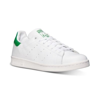 アディダス スニーカー シューズ メンズ Men's Stan Smith Casual Sneakers from Finish Line White, Fairway