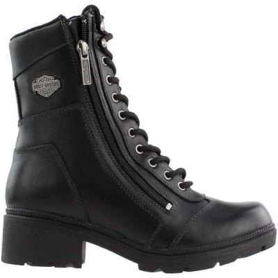 ハーレーダビッドソン レディース ブーツ・レインブーツ シューズ Tessa Combat Boots