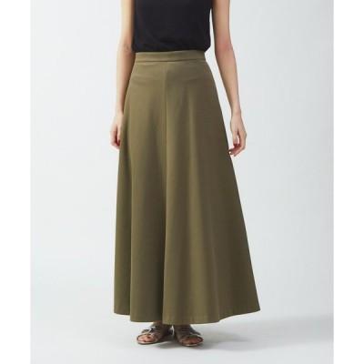 スカート ポンチロングスカート