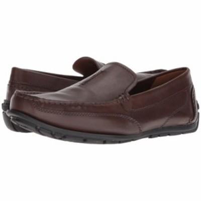 クラークス ローファー Benero Race Dark Brown Leather