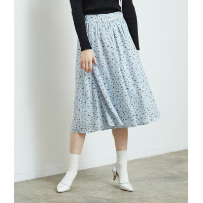 ROPE' PICNIC(ロペピクニック)/花柄ギャザースカート