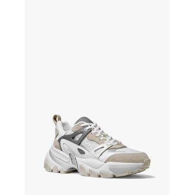 MICHAEL KORS MENS メンズ NICK スニーカー 靴・シューズ オプティックホワイト 7.5 マイケル・コース 送料無料