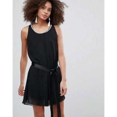 キューイーディーロンドン QED London レディース パーティードレス シフトドレス ワンピース・ドレス Shift Dress ブラック
