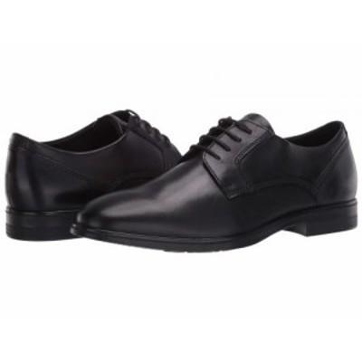 ECCO エコー メンズ 男性用 シューズ 靴 オックスフォード 紳士靴 通勤靴 Queenstown Plain Toe Tie Black Cow Leather【送料無料】