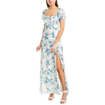 ユミキム ワンピース トップス レディース YUMI KIM Maxi Dress love letter ivory