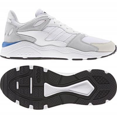 アディダス アディケイオス  ADICHAOS (EF1054) メンズ スニーカー : ホワイト×グレー adidas