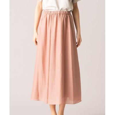(Leilian/レリアン)【my perfect wardrobe】イージースカート/レディース オレンジ系