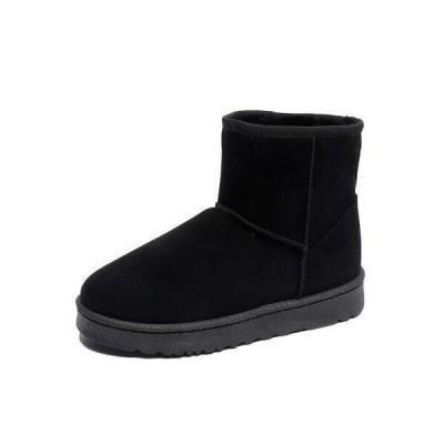 秋冬人気ムートンブーツレディースショートブーツ痛くない疲れない靴ブーティ歩きやすい