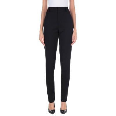 SAINT LAURENT パンツ ブラック 40 バージンウール 100% / ポリエステル パンツ