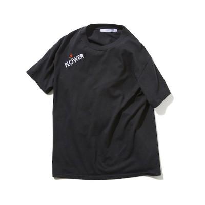 tシャツ Tシャツ rehacer : Flower Logo T / フラワー ロゴ Tシャツ