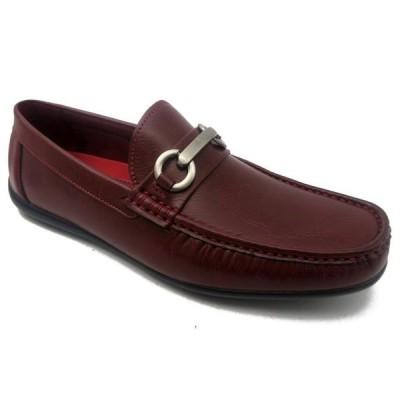 メンズ 靴 スリッポン Mecca ME-3000 IAN Men's Slip-On Bit Buckle Shoes