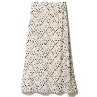 スカート 《musee》ペイントプリントスカート