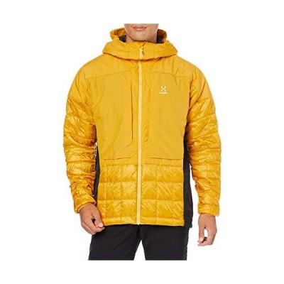 ホグロフス 化繊、中綿入り ノルディック ミミック フード Nordic Mimic Hood Men メンズ Pumpkin yellow
