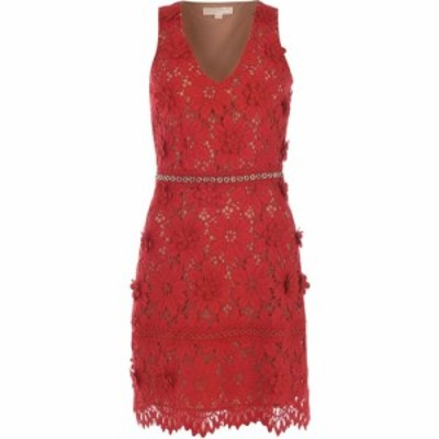 マイケル コース MICHAEL Michael Kors レディース ワンピース ワンピース・ドレス Kors Lace Dress Scarlet