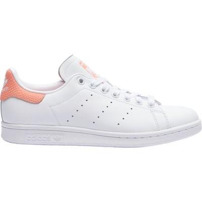 アディダス adidas Originals レディース スニーカー シューズ・靴 stan smith White/White/Chalk Coral