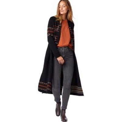 ペンドルトン レディース ニット&セーター アウター Open Front Duster Sweater - Women's Black Santa Rosa