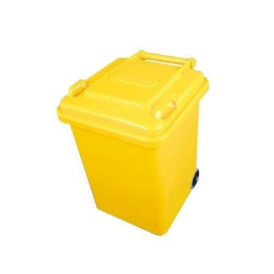 ダルトン DULTON プラスチック トラッシュカン 18リットル PLASTIC TRASH CAN 18L YELLOW 100-195YL newitem