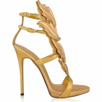 ジュゼッペ ザノッティ GIUSEPPE ZANOTTI レディース サンダル・ミュール シューズ・靴 Cruel Leather Sandal Heels Gold