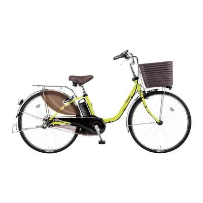 PANASONIC BE-ELD636-G ピスタチオ ビビ・DX [電動アシスト自転車(26インチ・内装3段)] 電動自転車