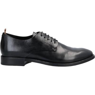 ブッテロ BUTTERO メンズ シューズ・靴 laced shoes Black