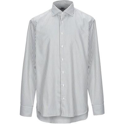 STENSTRÖMS シャツ ミリタリーグリーン 40 コットン 100% シャツ